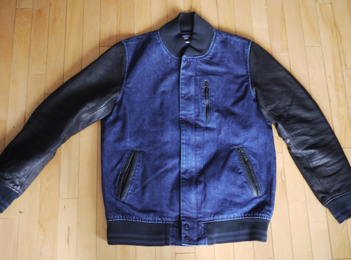 Clothing: Nike Sportswear Selvedge Denim Destroyer Jacket