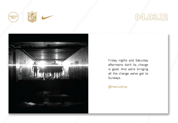 Projects: Nike X NFL Press Launch - Digital Experience