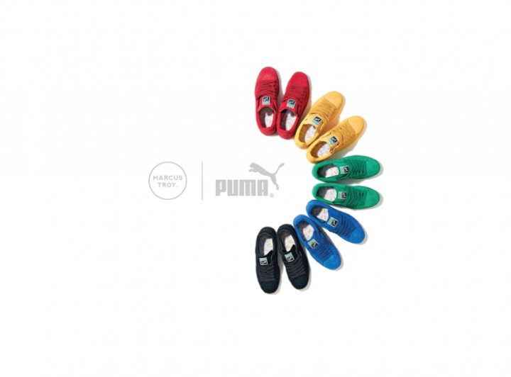 Projects: Puma x Marcus Troy Digital Collaboration
