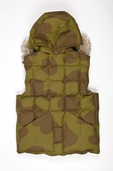 Clothing: Nigel Cabourn x Eddie Bauer Down Vest - Made in Canada