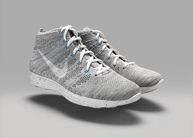 Footwear: Nike HTM Flyknit Chukka