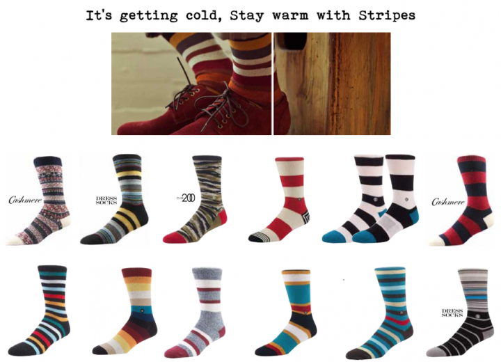 Accessories: Stance patterned socks