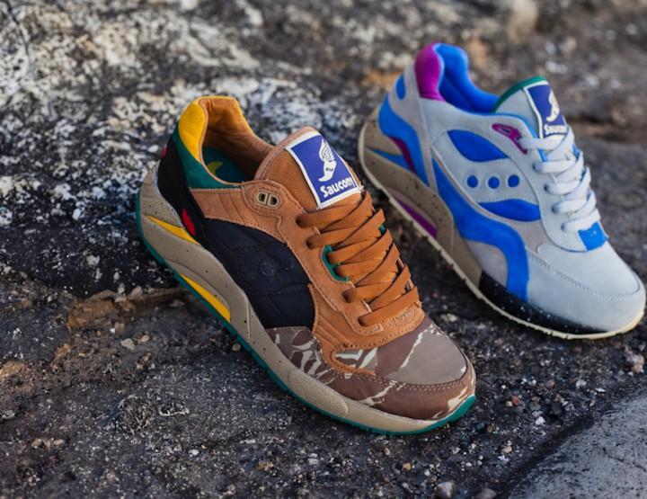 Footwear: Bodega x Saucony Elite G9 Pack Spring/Summer 2013