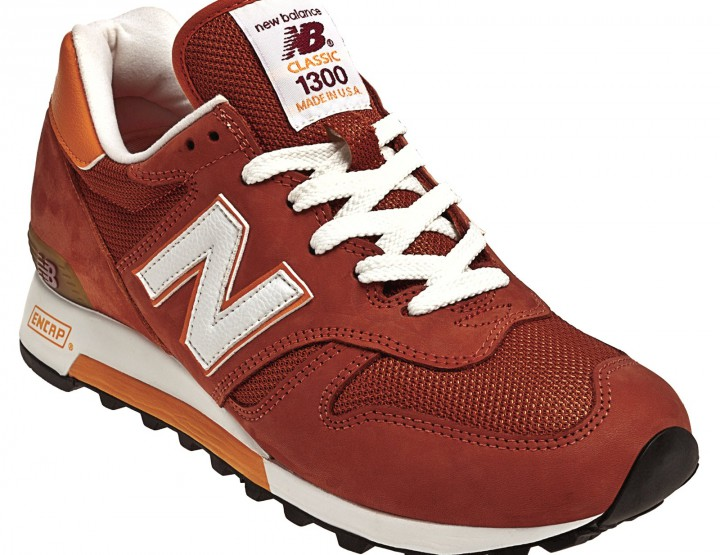 Footwear: New Balance M1300 Day Tripper in Copper