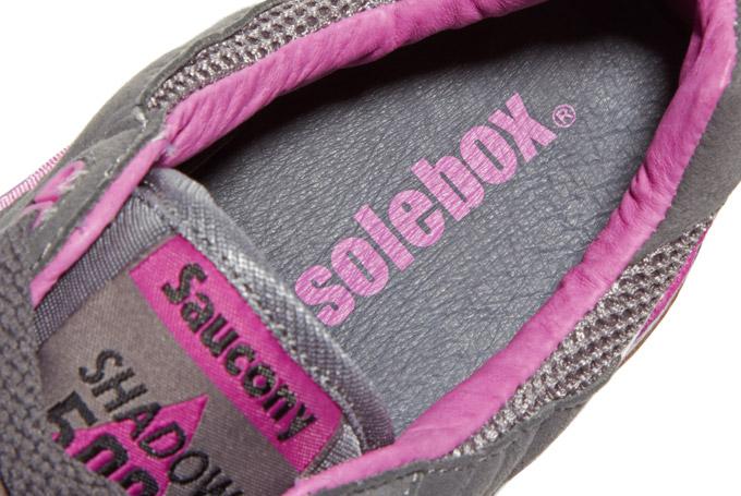 Footwear: Saucony Solebox Shadow 5000