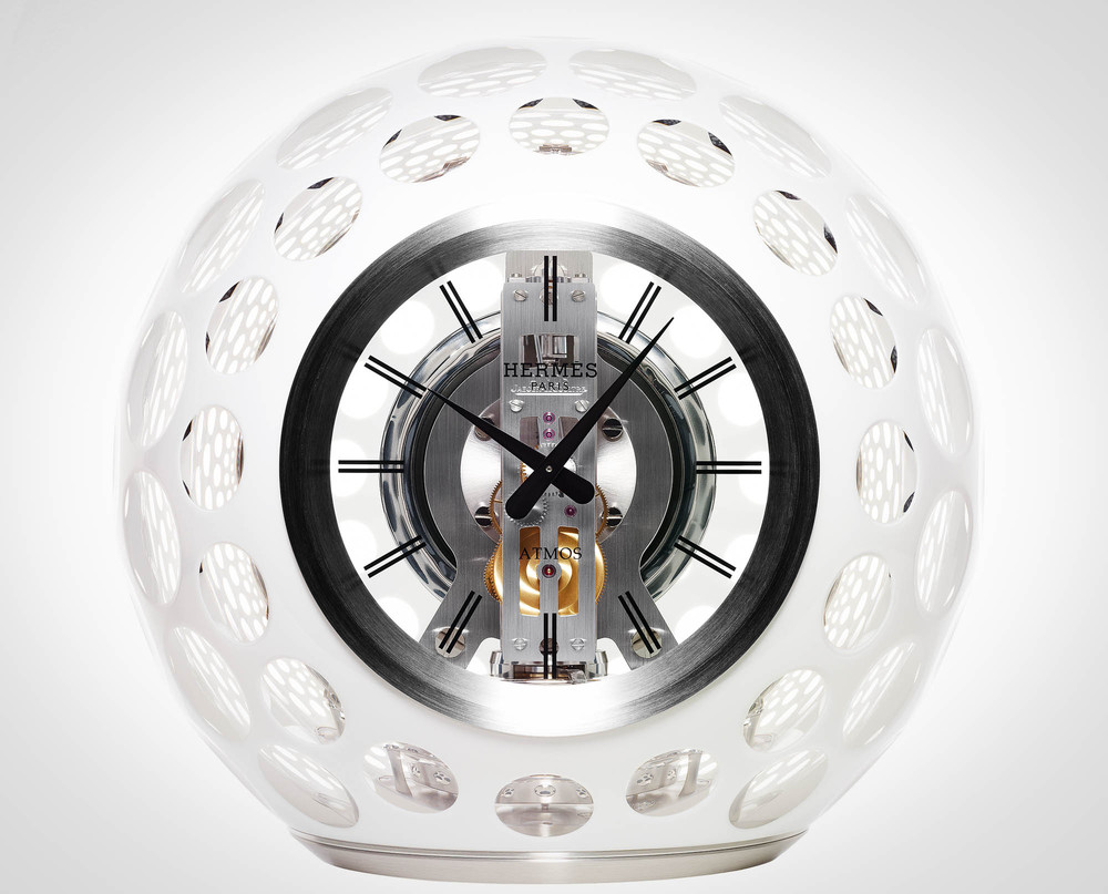 Futuristic Clock Hermacs Atmos Clock By Jaeger Lecoultre Marcus Troy