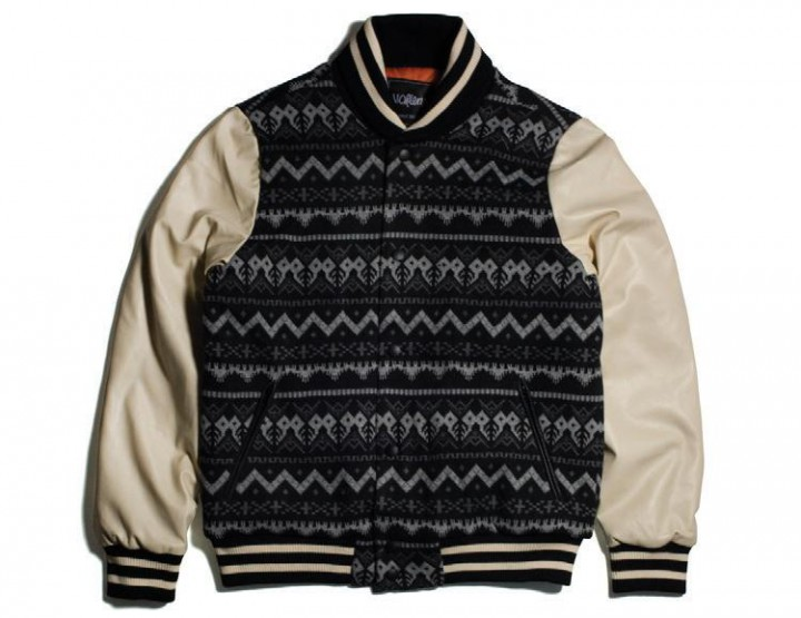 Clothing: 11after11 Aztec Varsity & Sweatpants