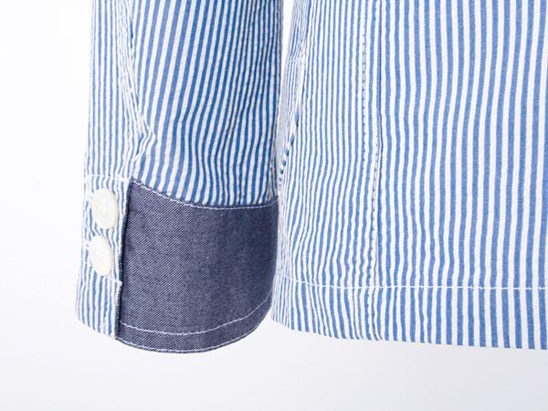 Clothing: Comme Des Garçons Junya Watanabe MAN Seersucker Striped Blazer