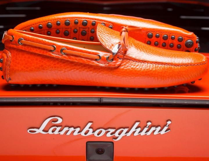 Footwear: Lamborghini X Car Shoe 50th Anniversary Mocassin