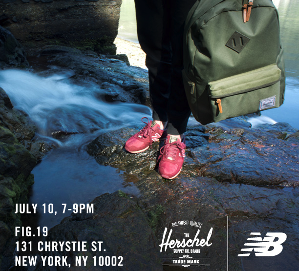 News: Herschel Supply Co. X New Balance Capsule Collection