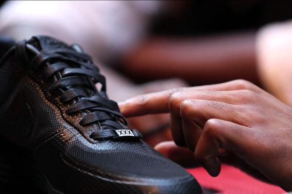 MTTV: The Making Of Andre Iguodala x Marcus Troy Bespoke AF1 @ 21 Mercer