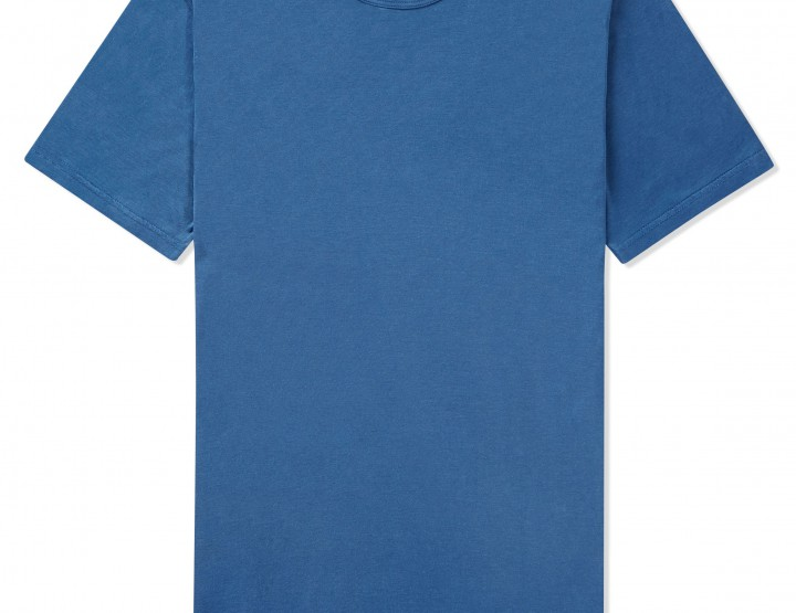 Clothing: Sunspel Indigo and Woad Dyed Tees and Sweats @sunspelclothing