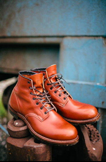 Footwear: Red Wing Heritage Beckman Boot X Barneys @RedWingHeritage