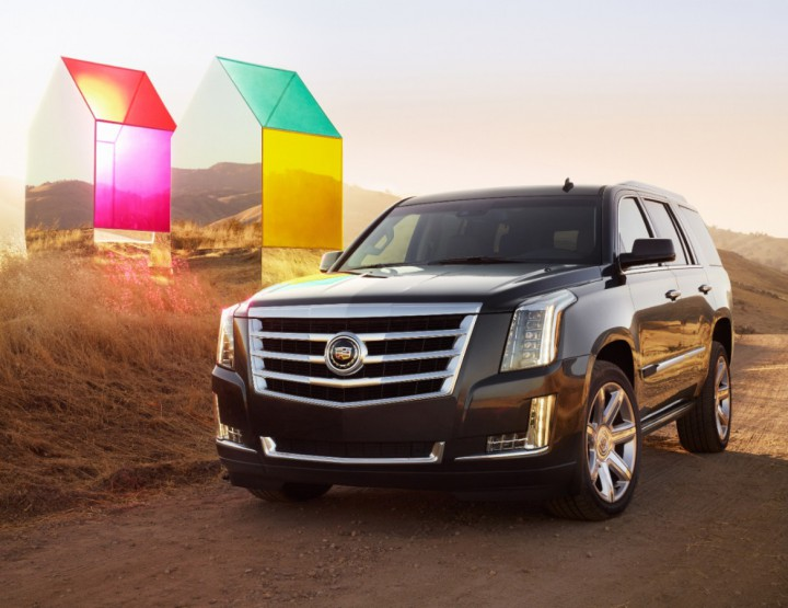 Automotive: Cadillac Unveils Their All-New 2015 Escalade @Cadillac