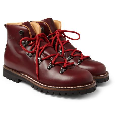 Footwear: Car Shoe Leather Hiking Boot @Car_Shoe