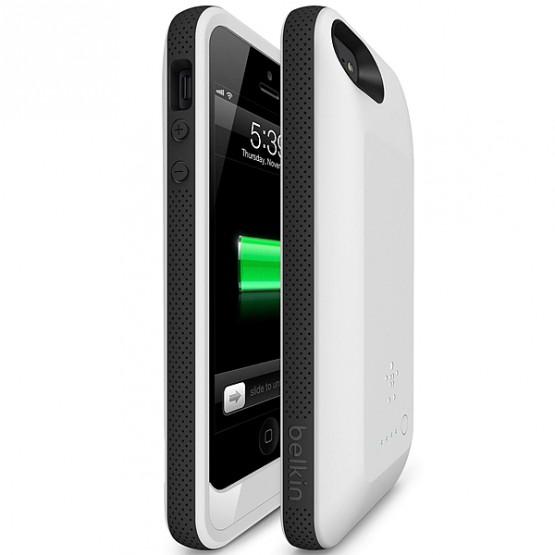 Gadgets: Belkin iPhone 5 Grip Power Battery Case @belkin