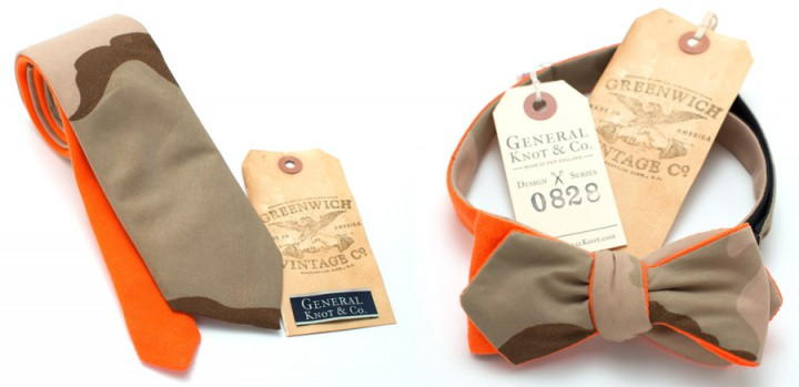 Accessories: General Knot & Co X Greenwich Vintage Co Neckties @GeneralKnot @grnwchvntgco
