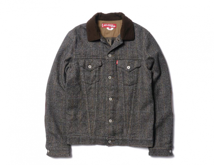 Clothing: Junya Watanabe x Levi's® Garment Milled Carded Wool Check Jacket @LEVIS