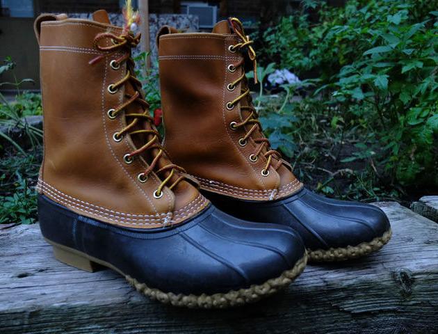 Footwear: L.L. Bean Boot @LLBean