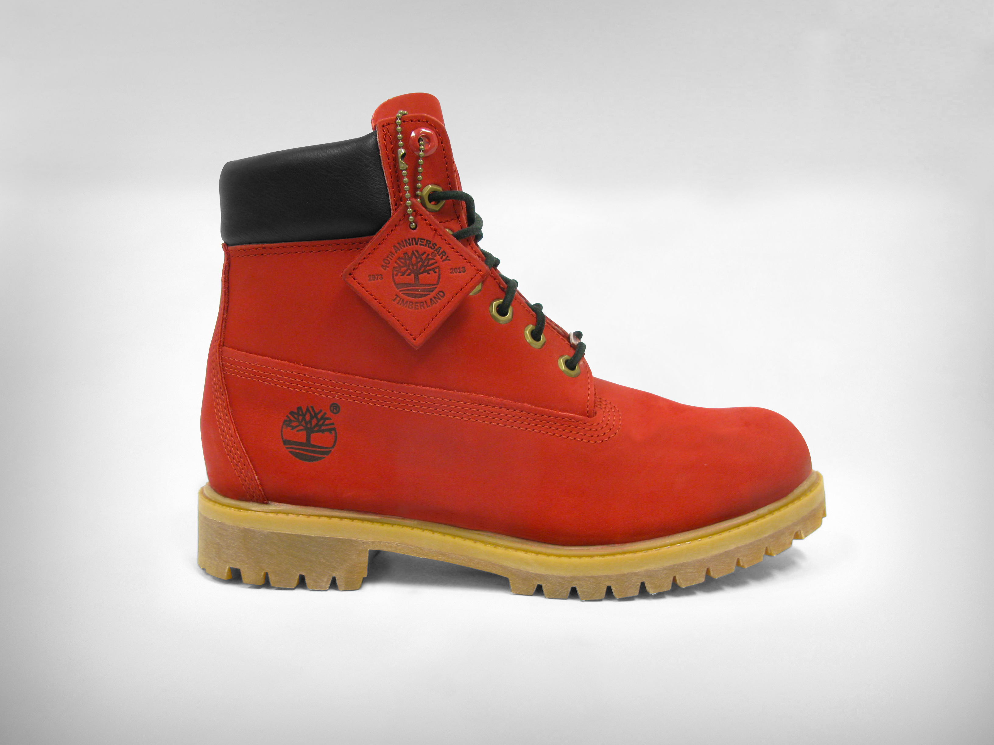 Timberland X VILLA Join The Movement Ruby Red Boot