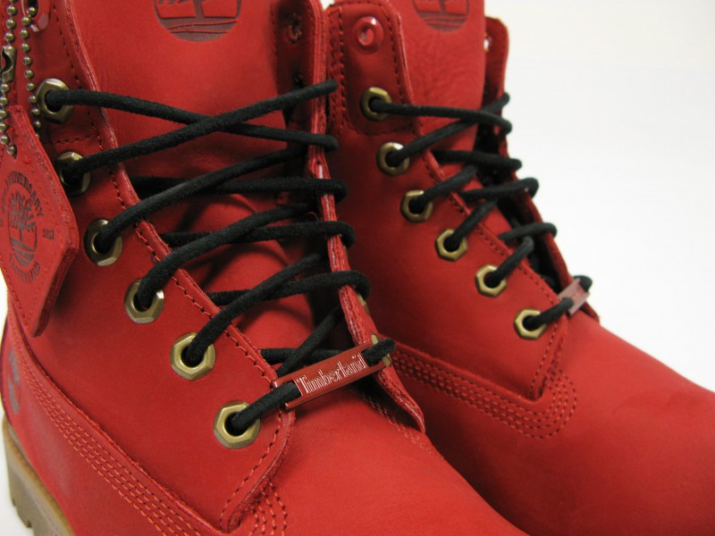 "Timberland X VILLA ""Join The Movement"" Ruby Red Boot"