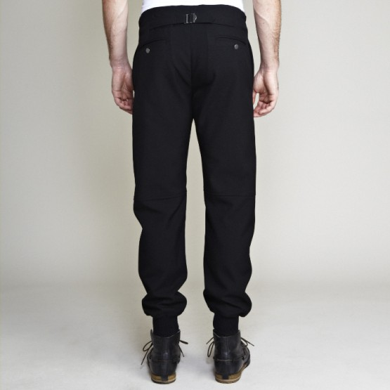 Clothing: Cadet Black Wool Aviator Pants @CadetUSA