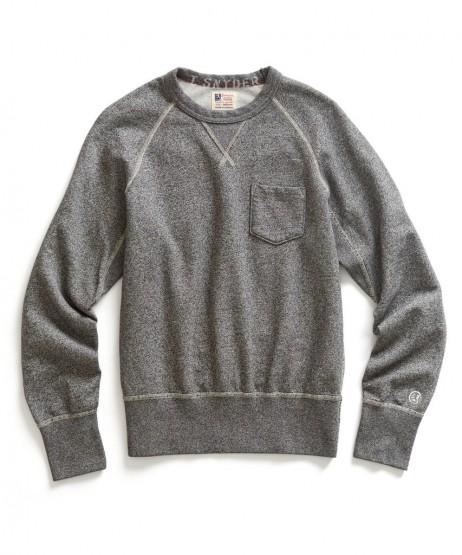 Clothing: Todd Snyder X Champion Salt & Pepper Pocket Sweatshirt @ToddSnyderNY @ChampionUSA