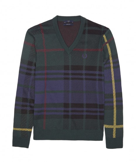 Clothing: Fred Perry Laurel Wreath Blank Canvas Tartan Collection @fredperry
