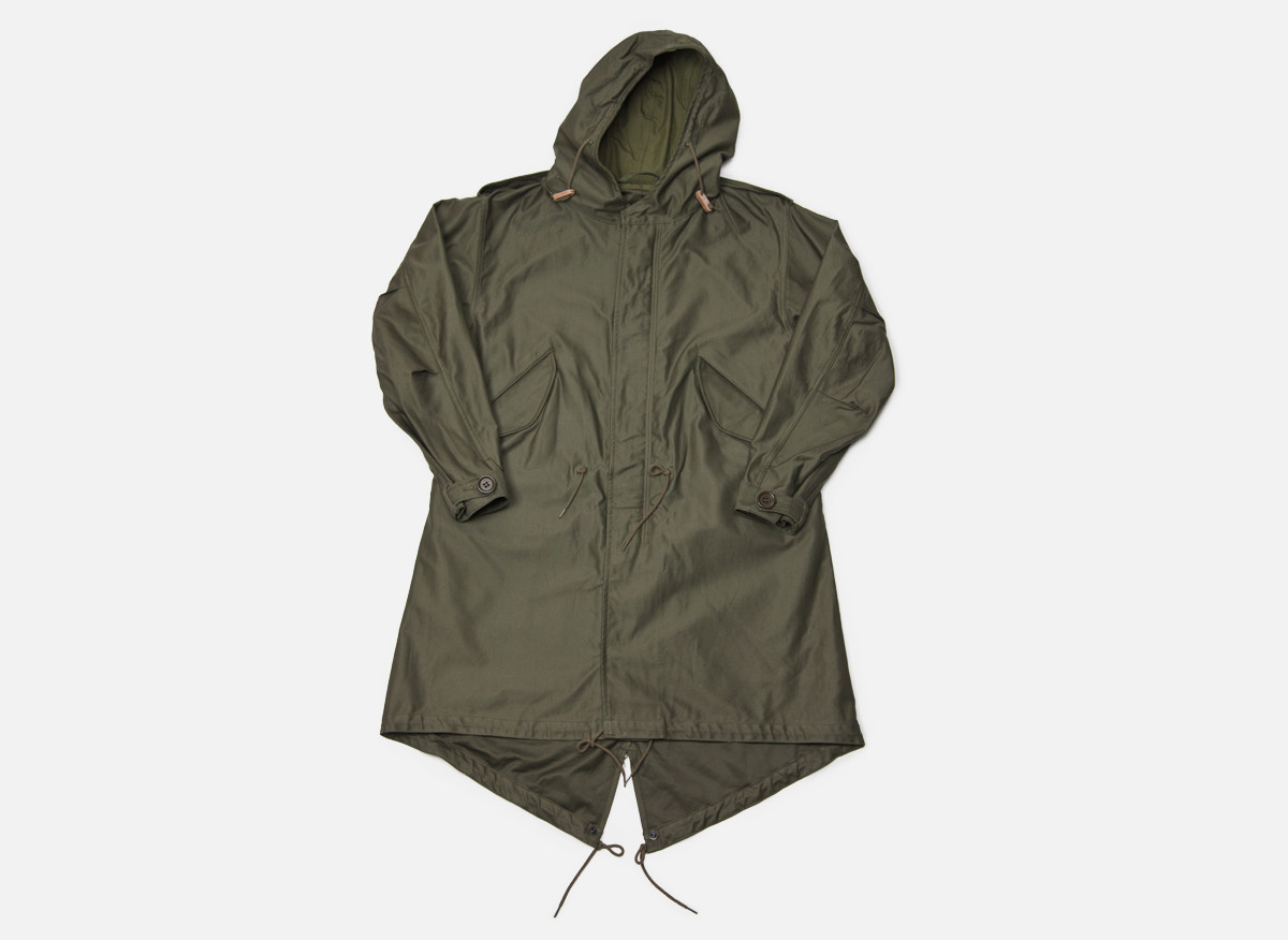 Clothing: The Real Mccoy's M-1951 Parka | Marcus Troy
