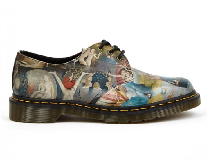 Footwear: Dr. Martens X Hieronymus Bosch 'Heaven' Three-eye Shoe @drmartens