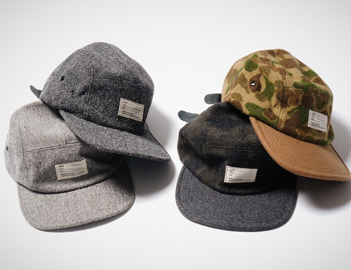 Accessories: Maiden Noir Wool Speckle Camp & Hunter Caps (@MaidenNoir)
