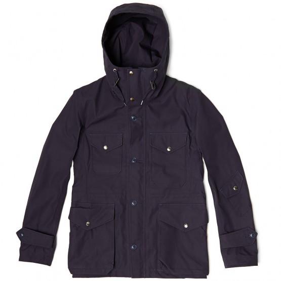 Clothing: Nanamica Navy Gore-tex Cruiser Jacket @nanamica_tokyo