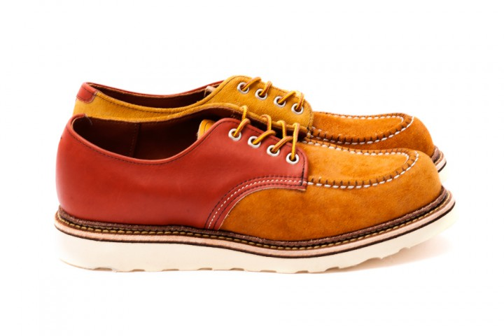 Footwear: BEAUTY&YOUTH UNITED ARROWS x Red Wing 25th Anniversary Crazy Oxford @RedWingHeritage @UNITEDARROWS