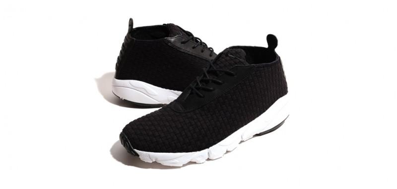 Nike Air Footscape Woven Desert Chukka - Black