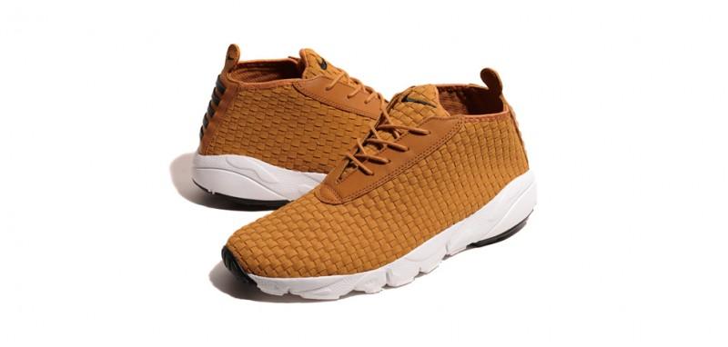 Nike Air Footscape Woven Desert Chukka - Tan