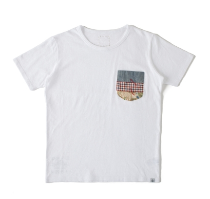 Visvim Knotted Pocket Tee s/s *F.I.L. EXCLUSIVE
