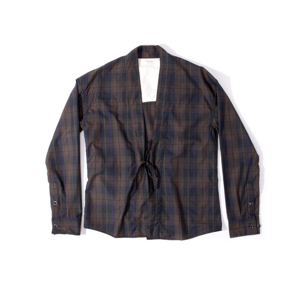 Visvim Lhamo Shirt IT brown