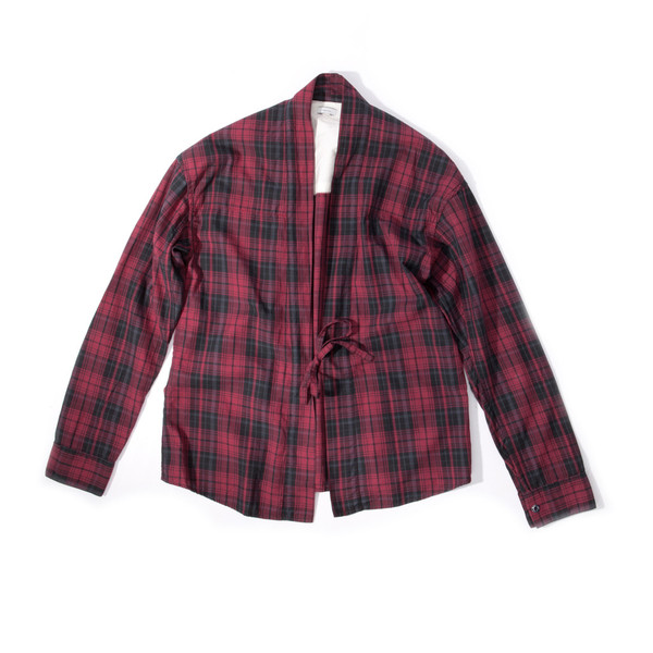 Visvim Lhamo Shirt IT red