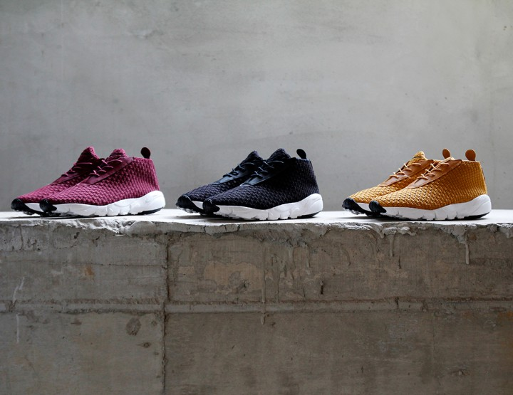 Footwear: Nike Air Footscape Desert Chukka Woven Collection @nike