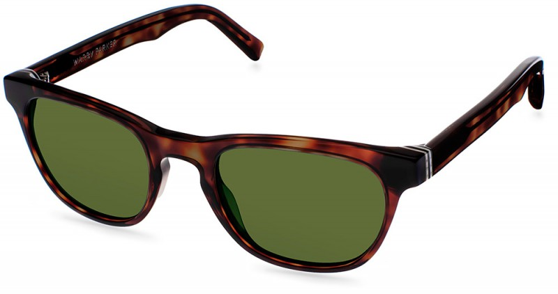 Warby Parker Palm Canyon Collection - Preston Sun Red Canyon