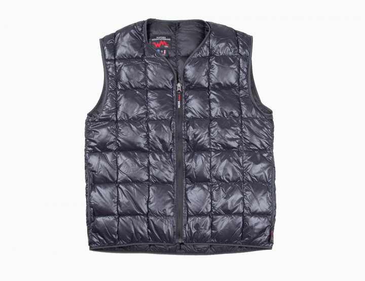 Clothing: Western Mountaineering Black Flash Vest