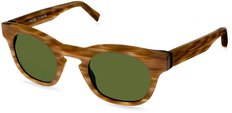 Warby Parker Palm Canyon Collection - Wheeler Sun Windswept Tortoise