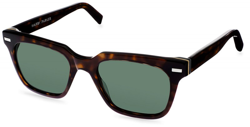 Warby Parker Palm Canyon Collection - Winston Sun Cognac Tortoise