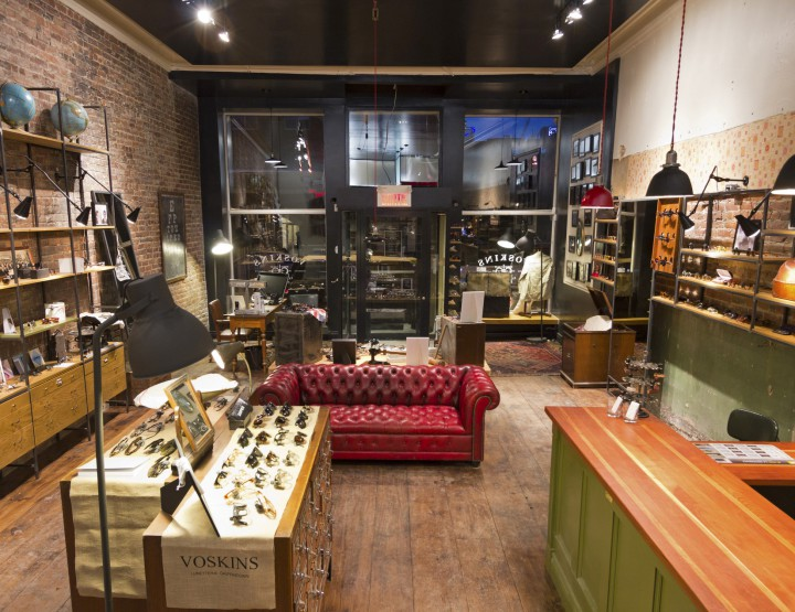 Retail: Voskins Lunetterie Griffintown