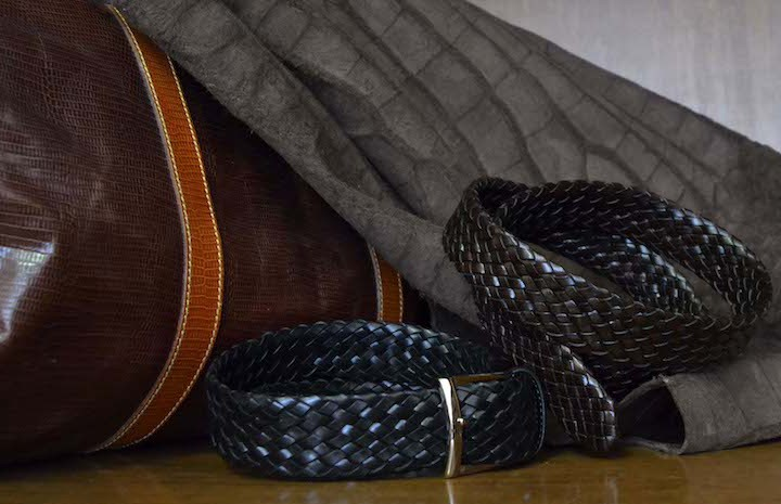 Anderson's Finely Crafted Woven Belts