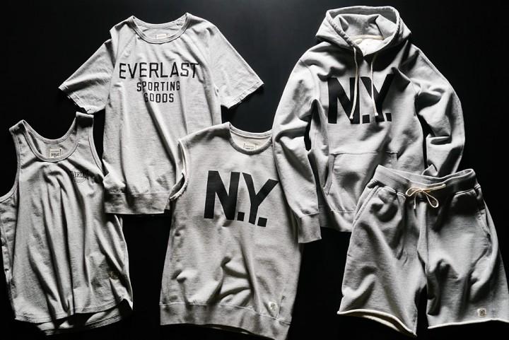 Reigning Champ x Everlast Collection (@reigningchamp @Everlast_)