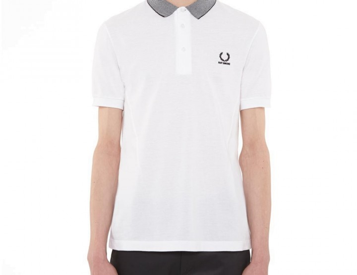 Raf Simons X Fred Perry Checkerboard Collar Shirt @fredperry
