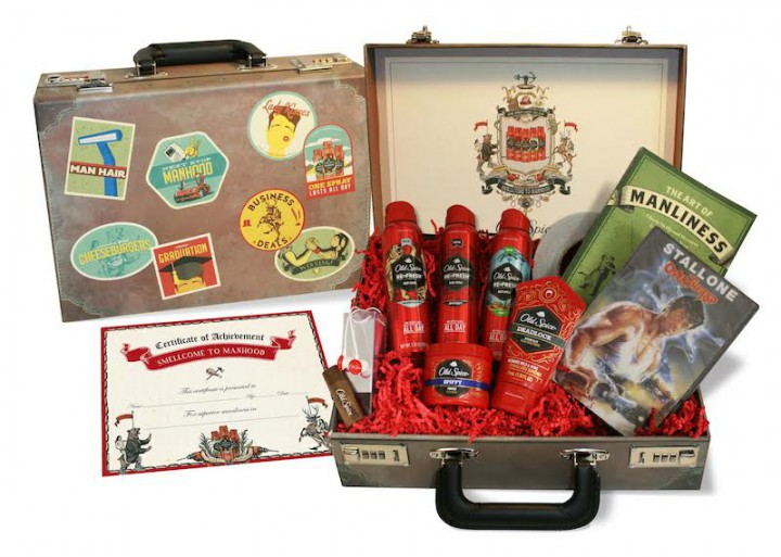 Smellcome To Manhood Old Spice Pack [Sponsored by Old Spice]  @OldSpice