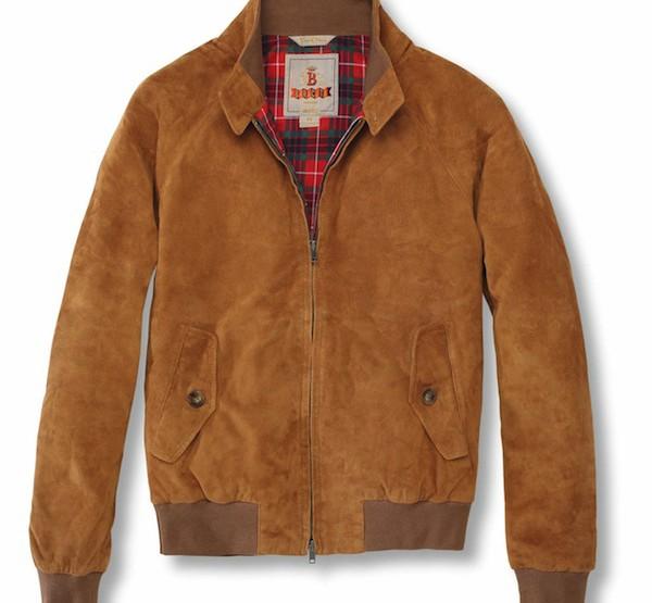 Baracuta G9 Suede Jacket