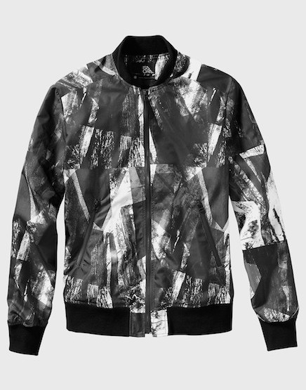 ISAORA Digitally Printed Bomber Jacket @isaora